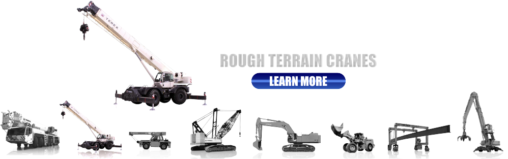 New and Used Rough Terrain Cranes for Sale
