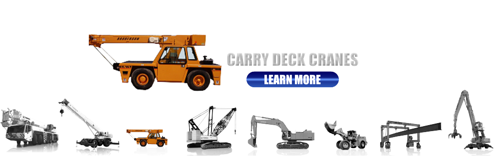 New and Used Carry Deck Cranes for Sale