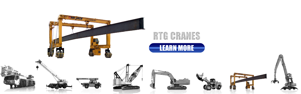 New and Used Rubber Tired Gantry Cranes for Sale