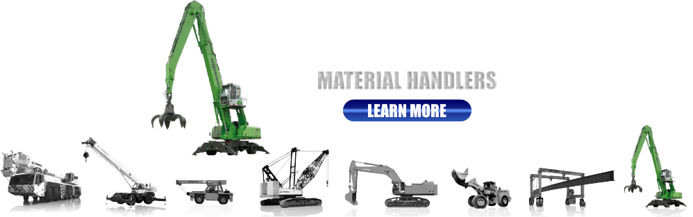 New and Used Material Handlers for Sale
