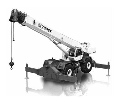 2012 TEREX RT130 ROUGH TERRAIN CRANE