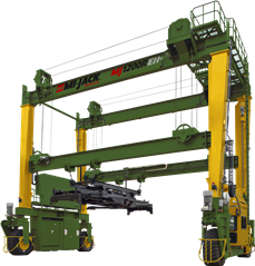 New and Used Intermodal Rubber Tired Gantry Cranes for Sale