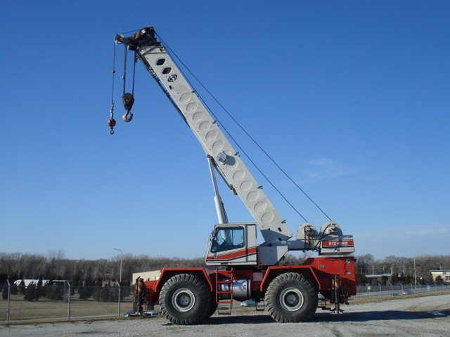 Link-Belt_RTC-8060 Rough Terrain Crane for Sale