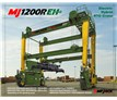 MI-JACK TRANSLIFT - RUBBER TIRED GANTRY CRANE MJ1200R EH