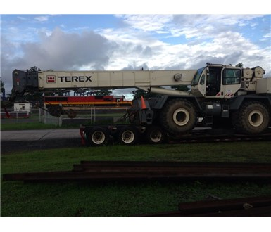 2008 TEREX RT665 ROUGH TERRAIN CRANE