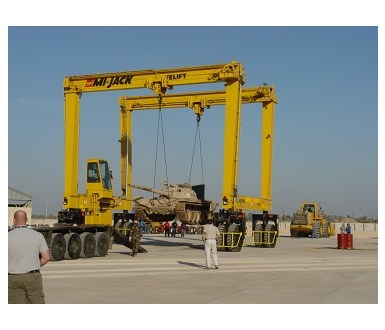 Mi-Jack Travelift - Rubber Tired Gantry Crane MJ150