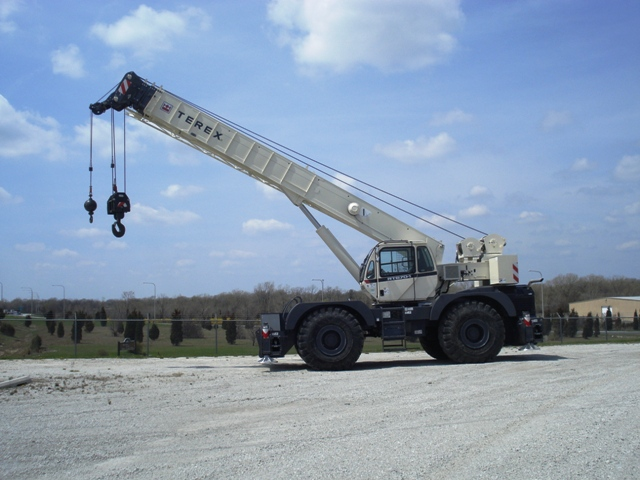 New Terex Rough Terrain Cranes for Sale