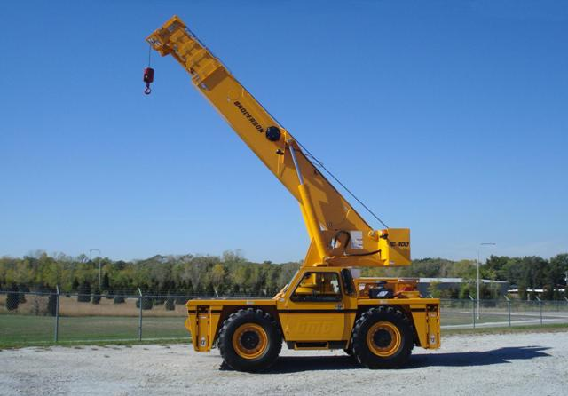 New Broderson Industrial and Carry Deck Cranes for Sale