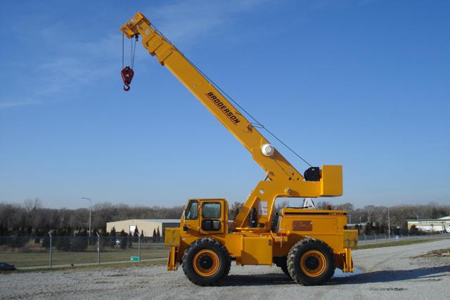 Broderson RT-300-2G Cab Down Crane for Sale