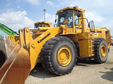 Used 2011 Kawasaki 115Z V-2  full-size Wheel Loader For Sale